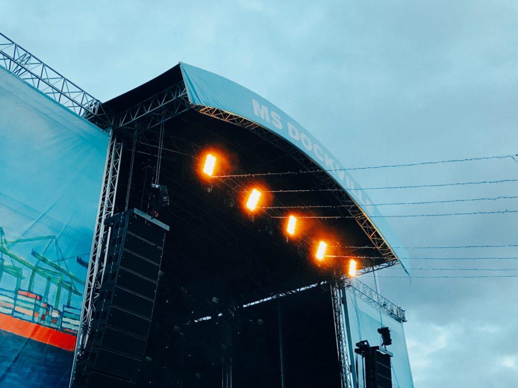 Die Grossschot Bühne auf dem MS Dockville 2017