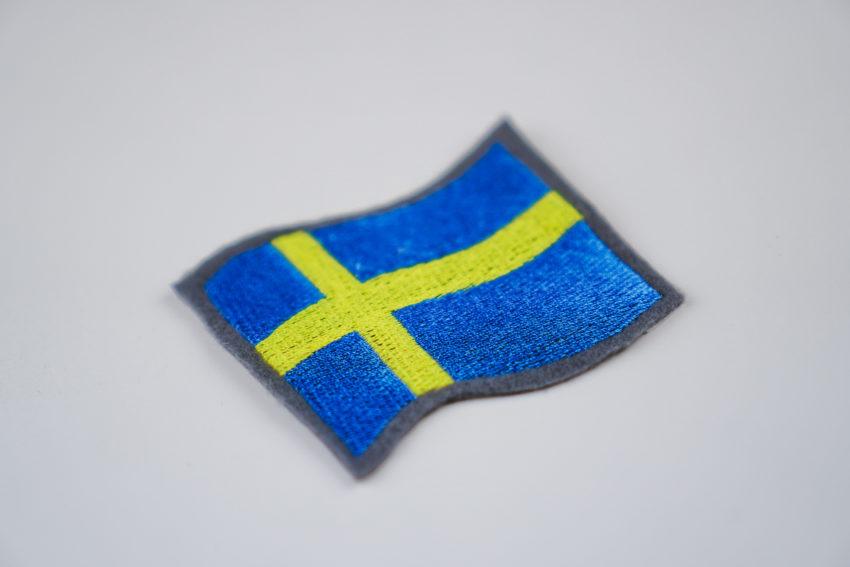flagge schweden make ma. Black Bedroom Furniture Sets. Home Design Ideas