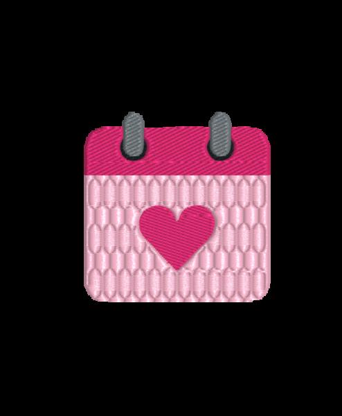 - calendar heart 494x600 - Kalender mit Herz