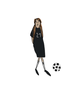 - girl socker 1 247x300 - soccer girl