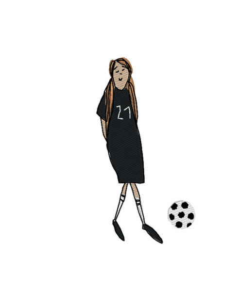 soccer girl girl socker 1 494x600