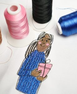 makema - makema stickdatei embroidery girl present 09 247x300 - Über uns