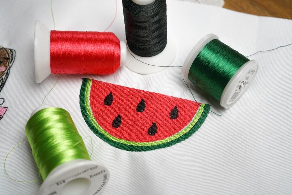 - makema stickdatei embroidery melone 10 - Melone