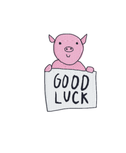 "auge - pig good luck 247x300 - Schwein ""Good Luck"""