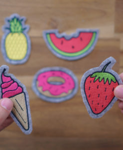 - 2017 04 11 embroidery design makema 01 247x300 - Set of 5 embroidery designs (pineapple, donut, melon, ice cream & strawberry)