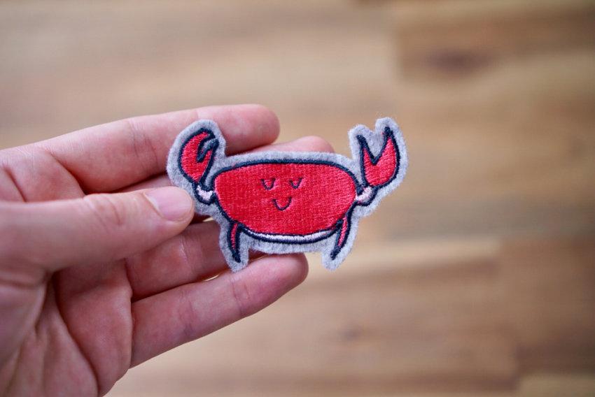 Stickdatei Krabbe Krebs herunterladen