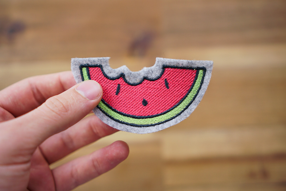download melon embroidery design