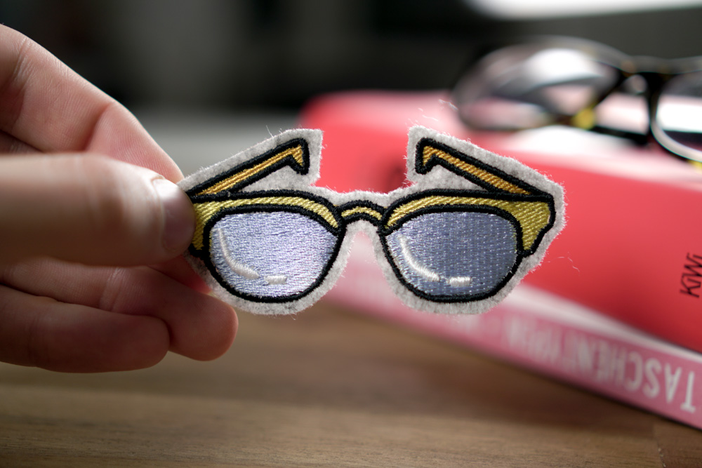 Brille - 2017 05 makema embroidery design stickdatei herunterladen 06 sunglasses - Brille