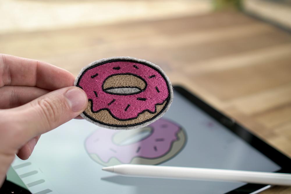 Donut - 2017 05 makema embroidery design stickdatei herunterladen 12 donut - Donut