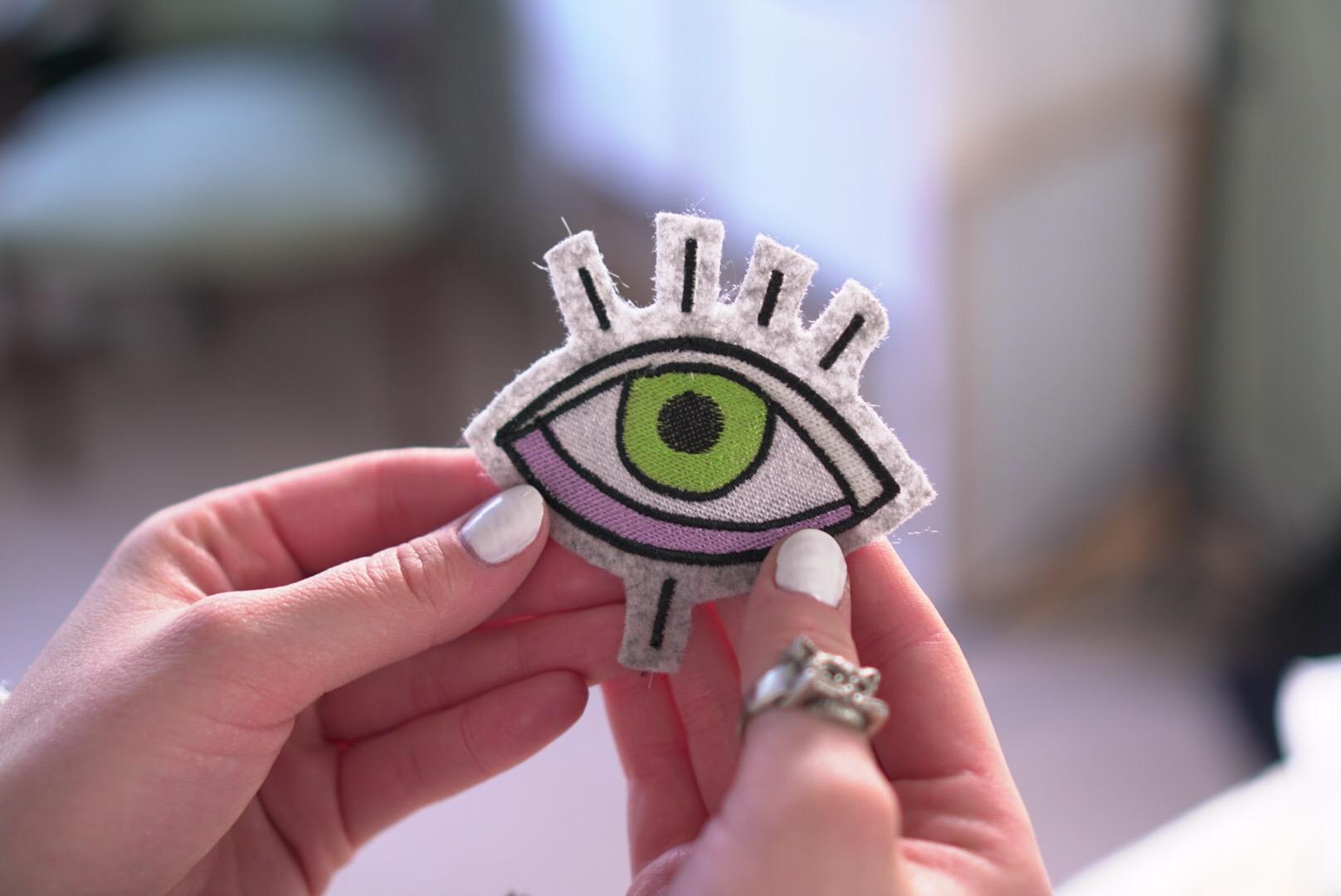 Stickdatei Auge - IMG 2136 - Auge