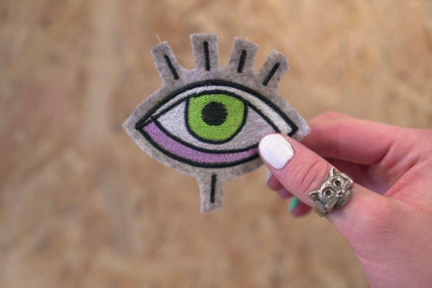 embroidery design eye