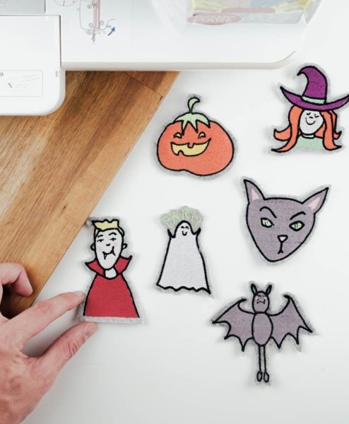 Download halloween embroidery design