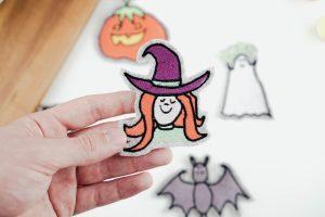 halloween stickdatei