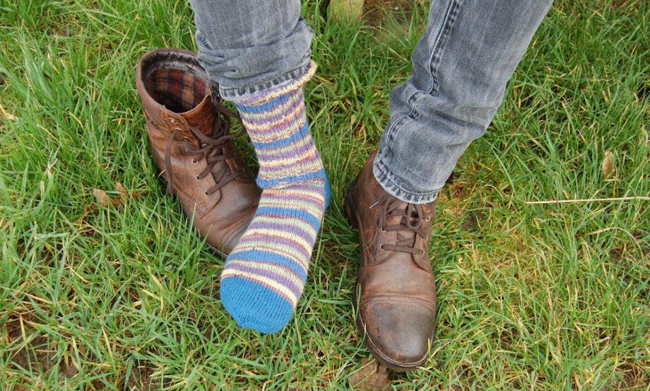 Strickanleitung Socken stricken
