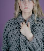 Strickjacke aus dickem Garn: Smilla von Lang Yarns