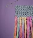 XL-YARN Schal: Schal stricken dicke Wolle