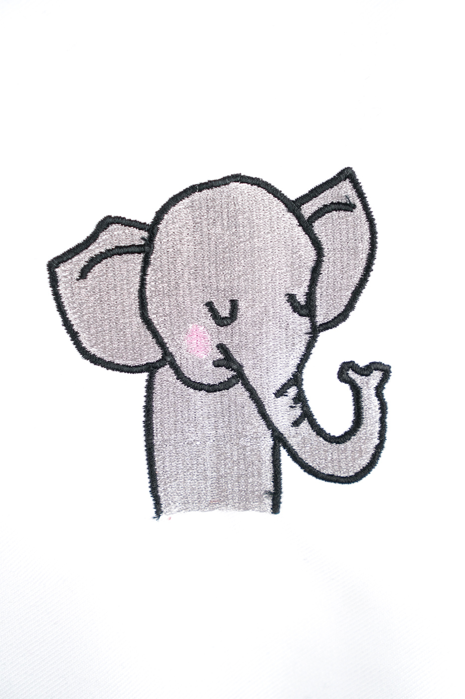 Die Stickdatei Elefant von den Safari Friends