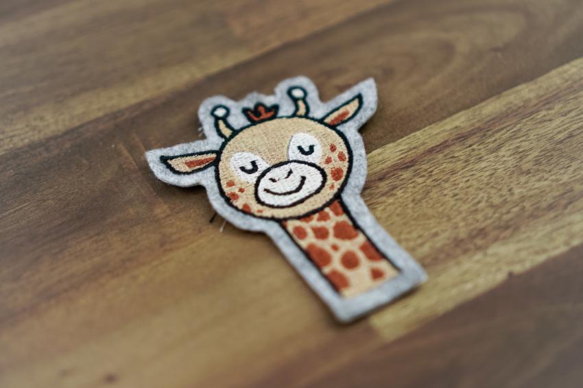 Stickdatei Giraffe / Zoo herunterladen