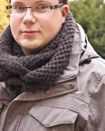 Strickanleitung Schal stricken für Anfänger