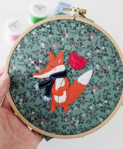 embroidery fox applique design ith [object object] Fox applique design 🦊 stickdatei applikation fuchs 10 494x600