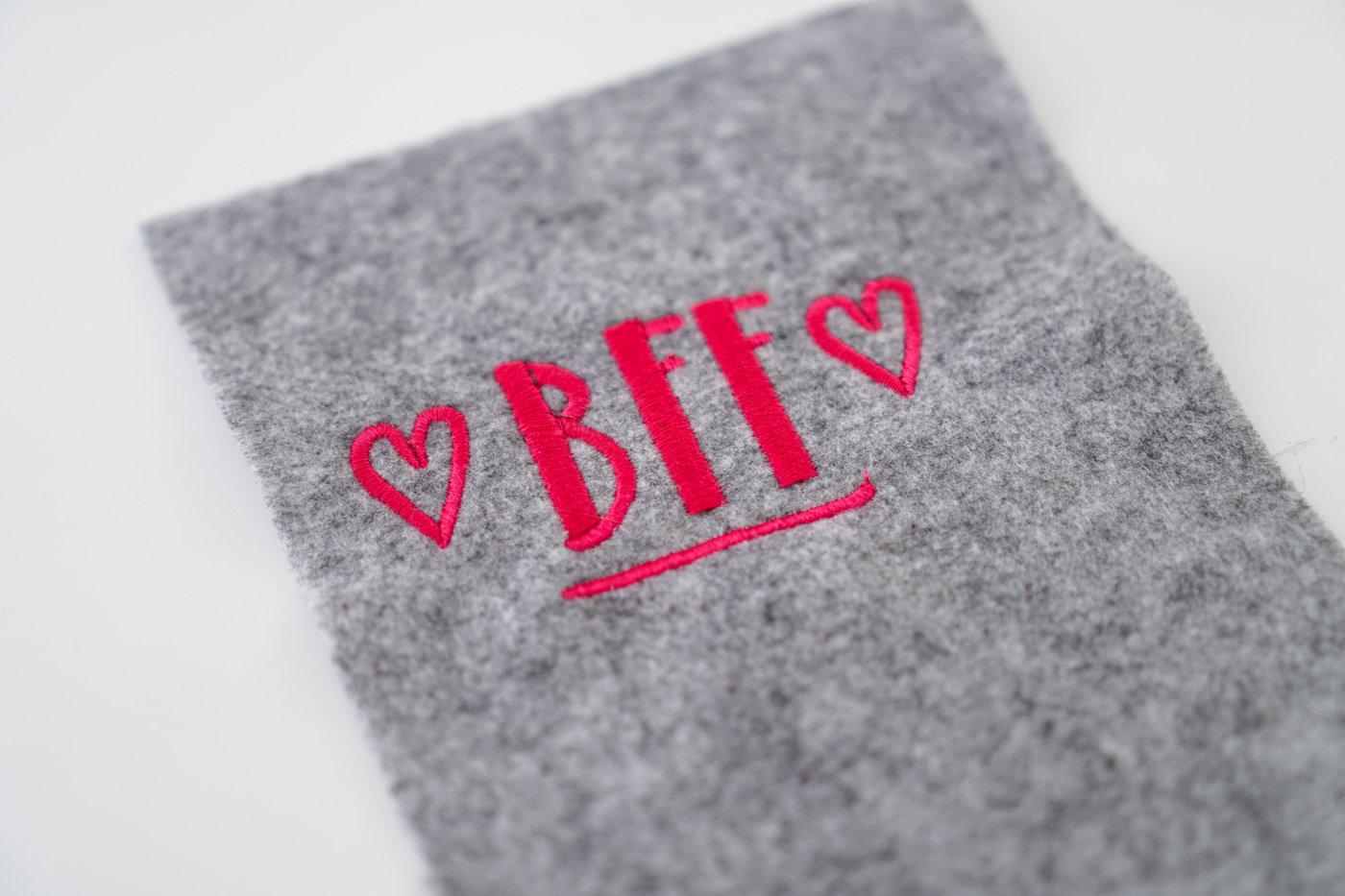 Stickdatei BFF