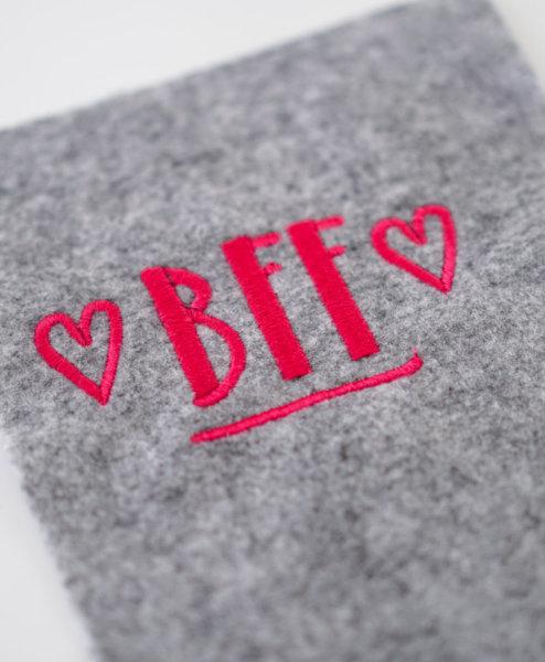 machine embroidery design bff