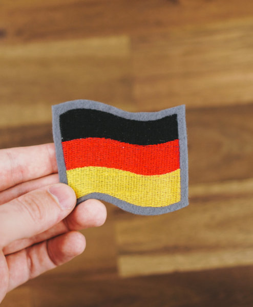 Stickdatei »Deutschland Fahne«