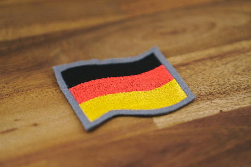 Stickdatei Deutschland Flagge