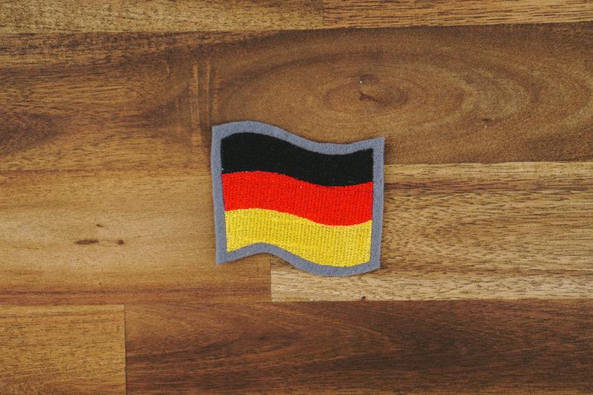 Stickdatei »Deutschland Fahne« Weltmeisterschaft