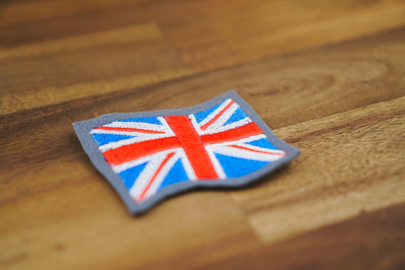 Stickdatei Großbritannien Flagge embroidery design flag union jack 🇬🇧 Flag Great Britain stickdatei england queen 1400x933