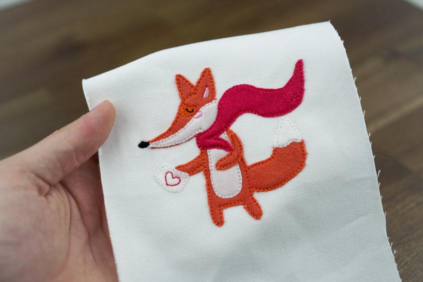 Stickdatei »Superfuchs« als Stickdatei Fuchs herunterladen