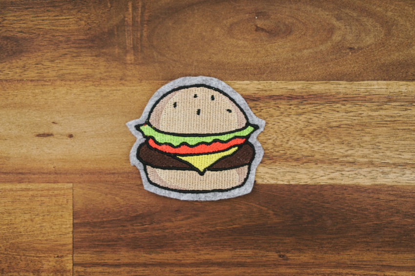 Stickdatei Burger