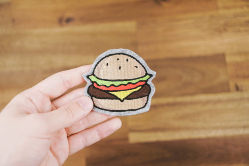 Stickdatei Hamburger machine embroidery design cheeseburger Cheeseburger 🍔 stickdatei hamburger burger 02 500x333