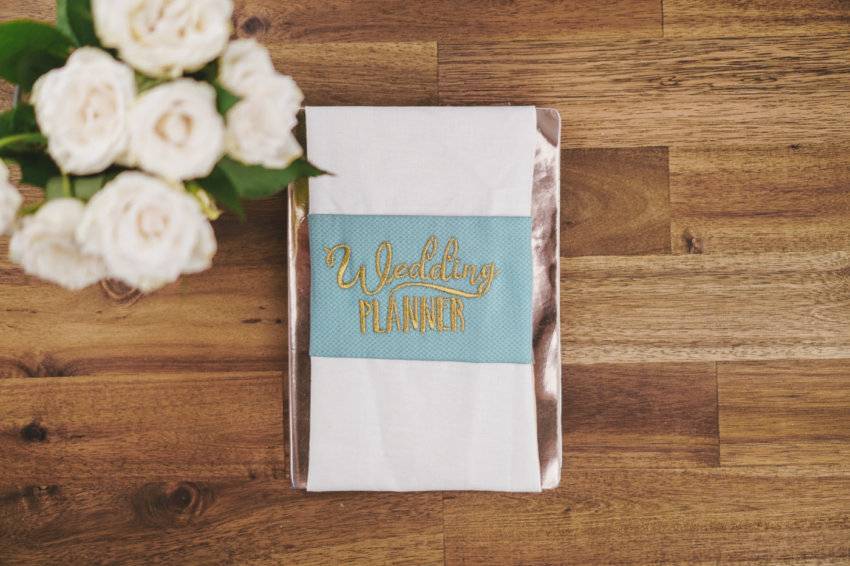 Wedding machine embroidery design Wedding planner