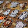 machine embroidery design animals (extensive set)