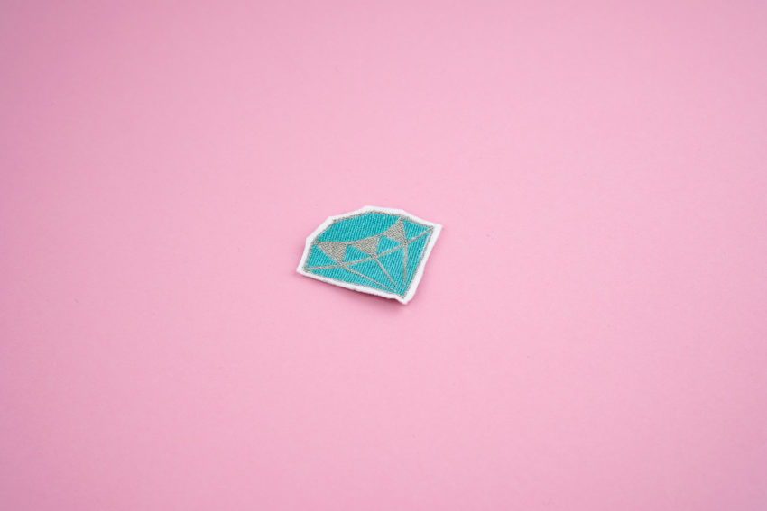 Stickdatei Diamant