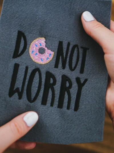 Stickdatei donut worry