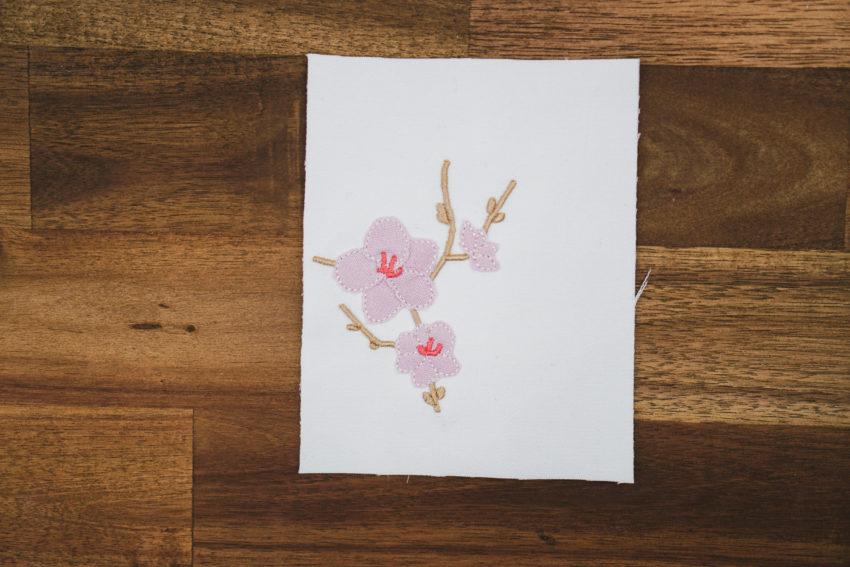 Stickdatei Kirschblüten