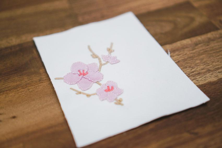 Stickdatei Blüten