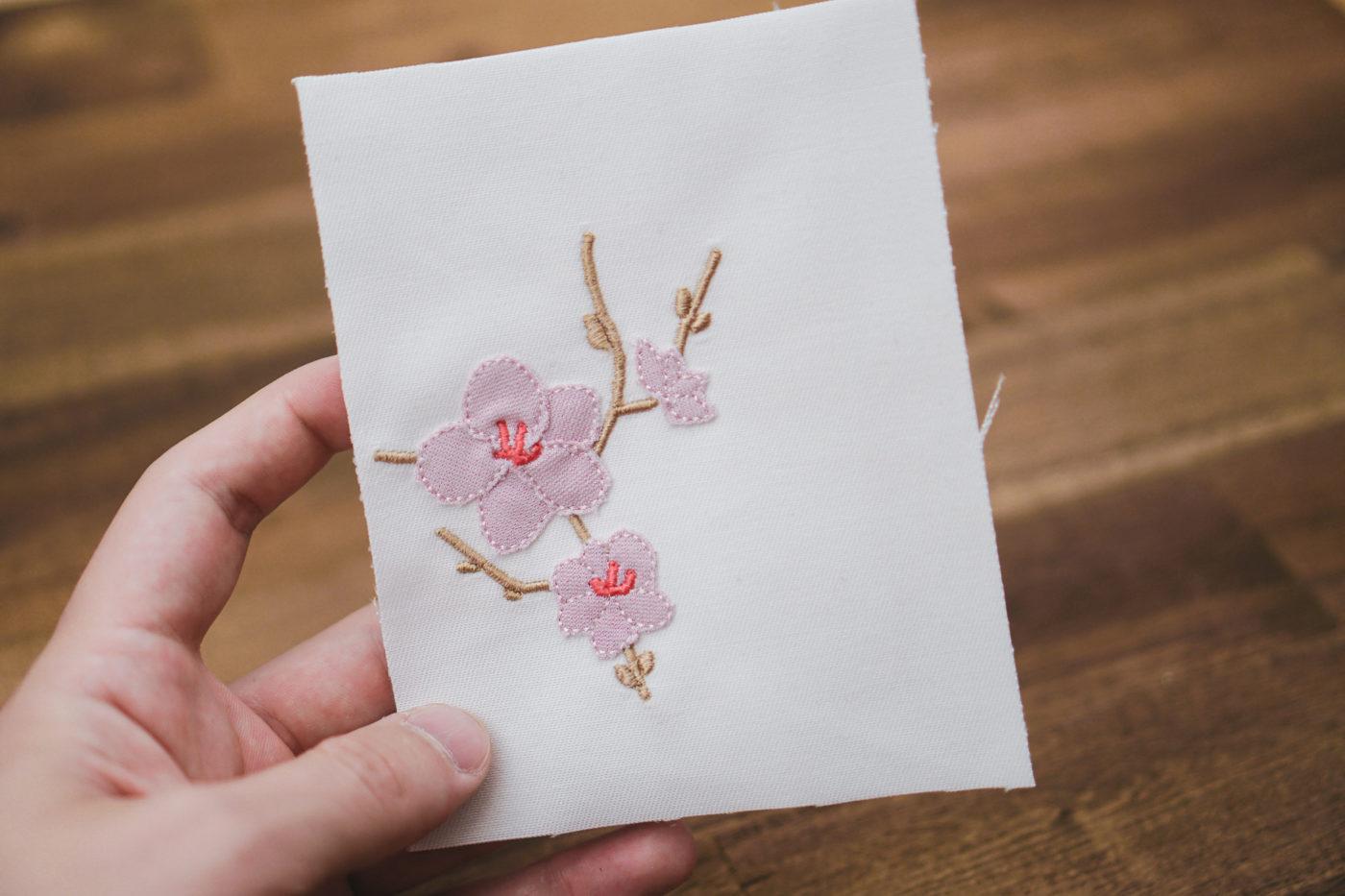 Stickdatei Blume