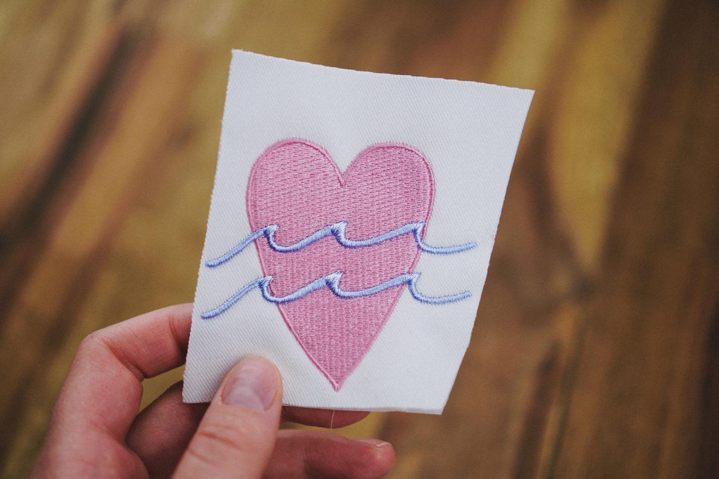 Stickdatei Ferien / Stickdatei Meer heart embroidery design Heart / Ocean stickdatei herz ocean love 03 1400x933