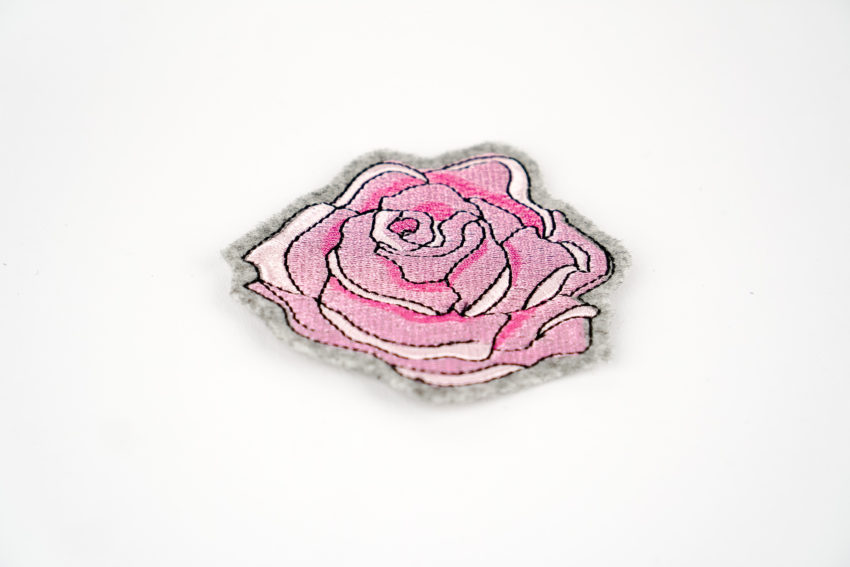 Stickdatei Rose