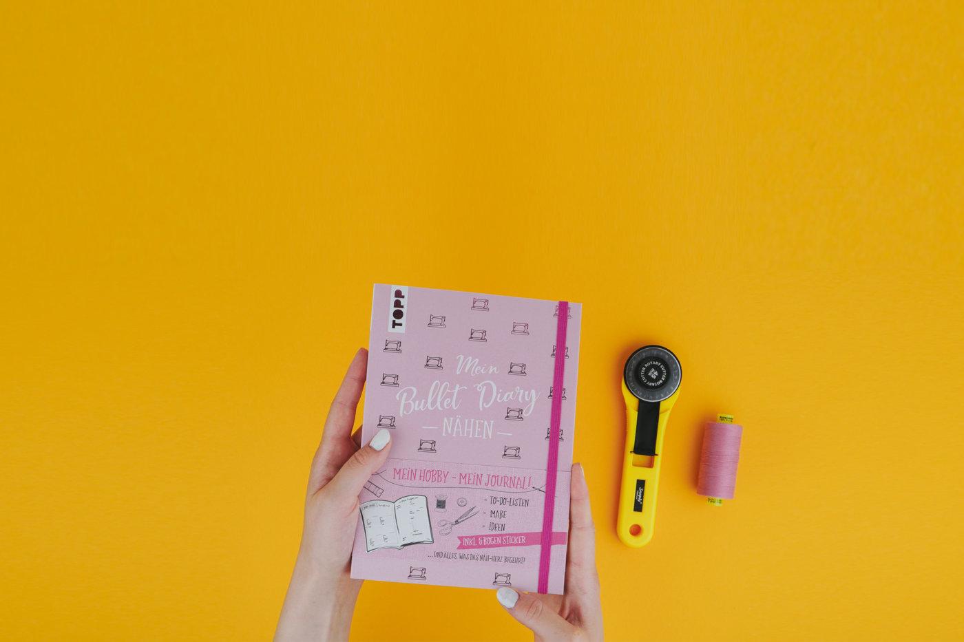 Nähplaner Buch im TOPP / Frechverlag: »Mein Bullet Diary« Nähen von Fredi alias Seemannsgarn nähplaner Nähplaner: Mein Bullet Diary 📒✂️ naehplaner bullet diary