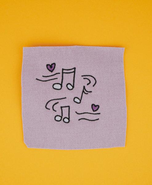 Stickdatei Musik / Noten stickdatei musik Musik 🎶 stickdatei noten musik 01 494x600