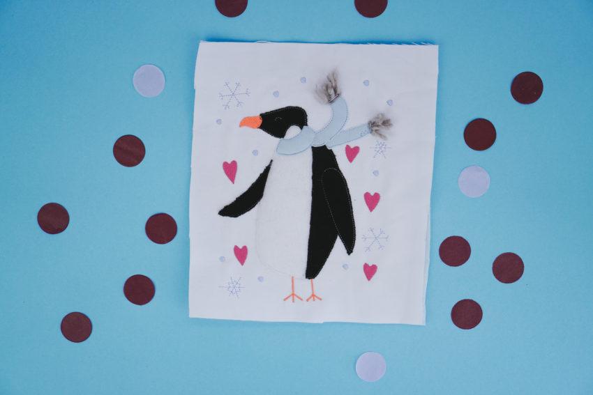 Pinguin Applikation