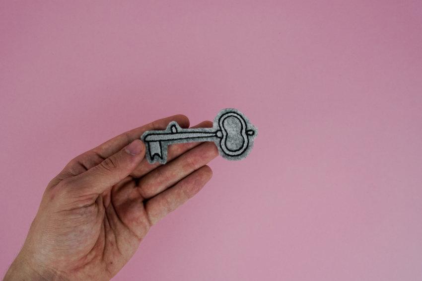 Stickdatei Schlüssel