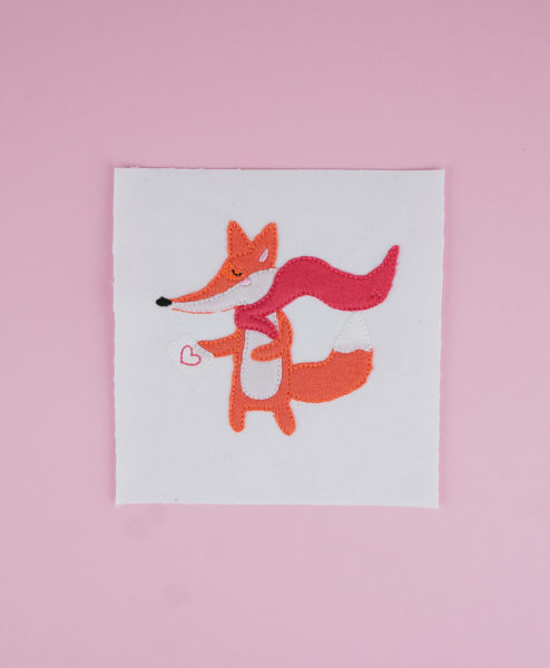 Stickdatei Fuchs (Applikation) [object object] Superfuchs 🦊 (Applikation) stickdatei super fuchs 01 494x600