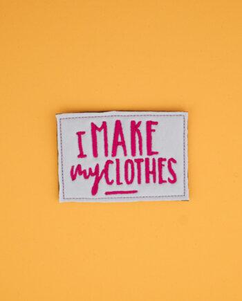 Stickdatei »I make my clothes«