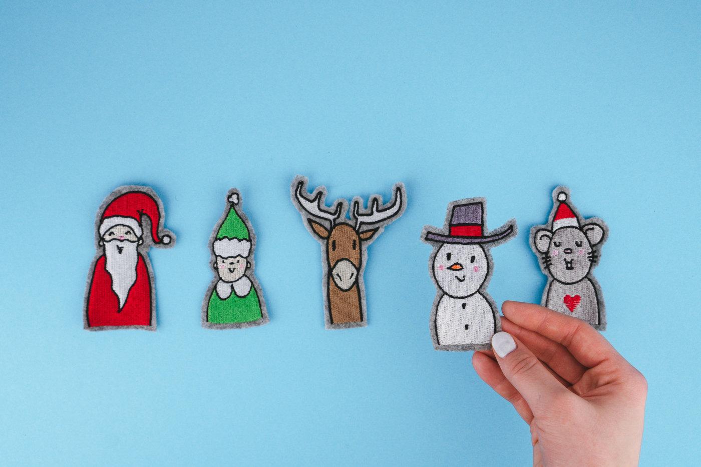 Stickdateien Weihnachten