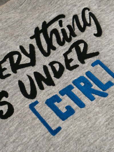 Everything is under [CTRL]
